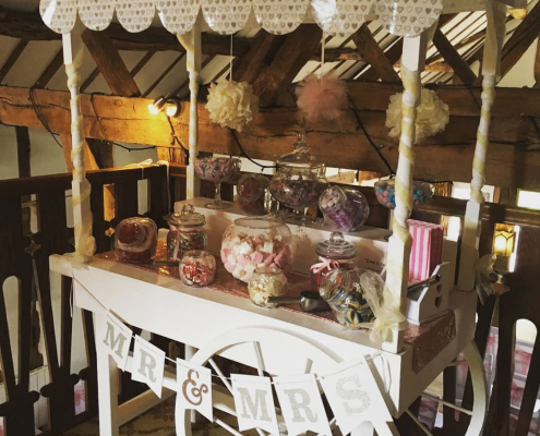 Sweet cart hire and Wedding sweet carts, Sweet carts for weddings