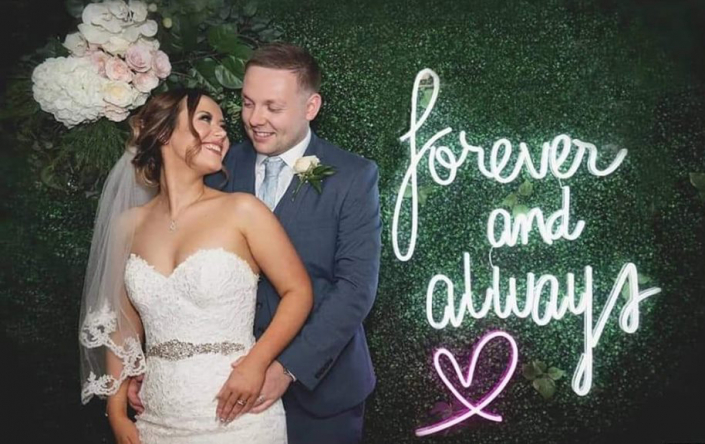 Image of neon signs for weddings