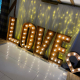 LED Rustic letters